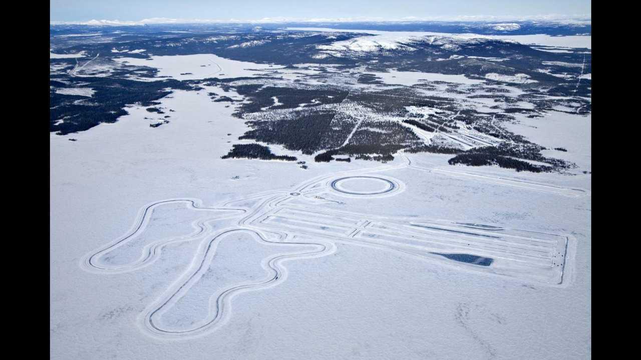 Un centre de test en Laponie