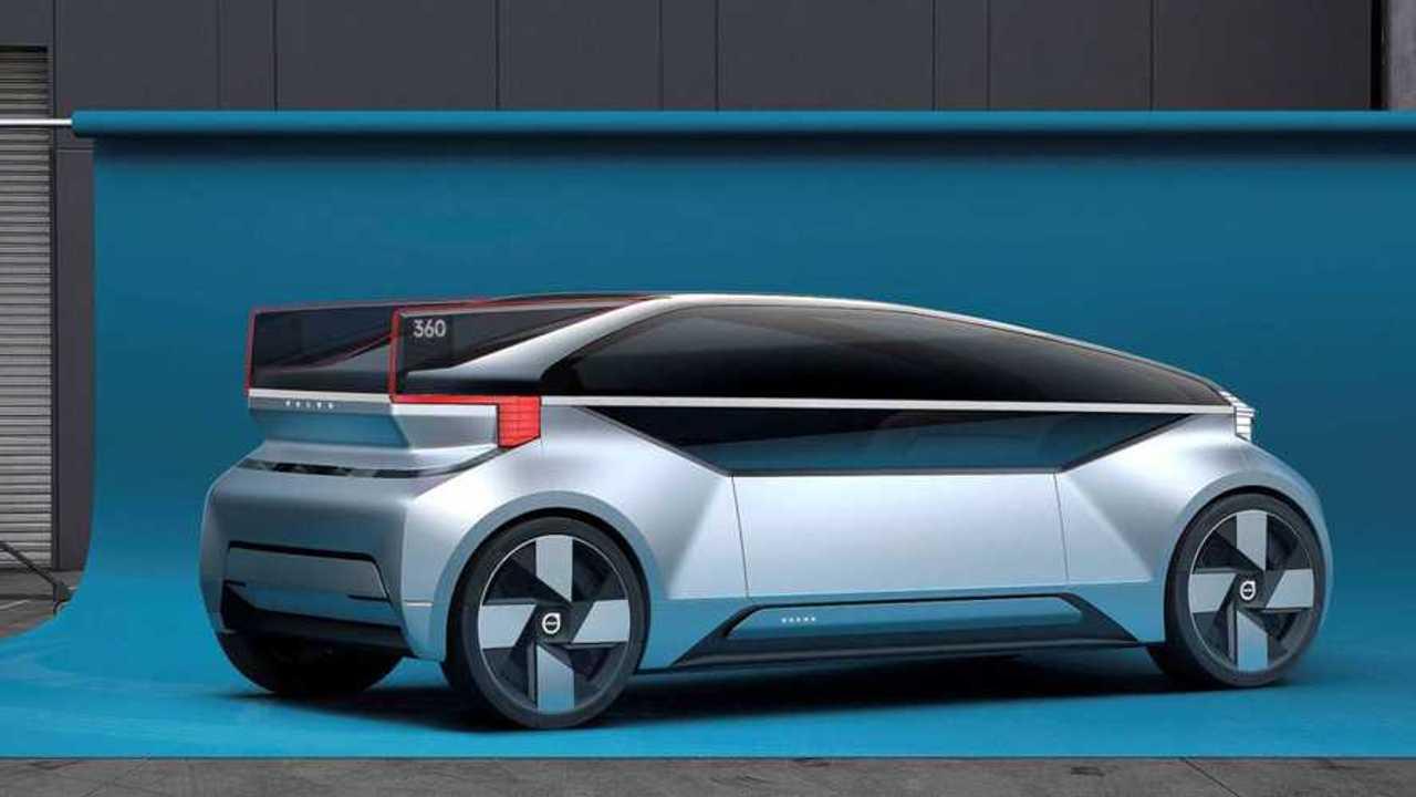 Volvo представила автономный электрокар для конкуренции с самолетами