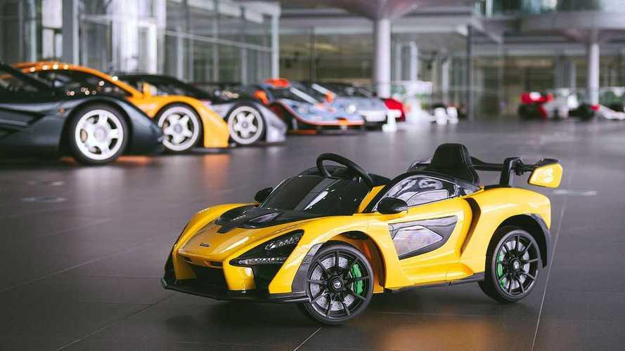 McLaren Senna Ride-On, un coche de juguete muy especial