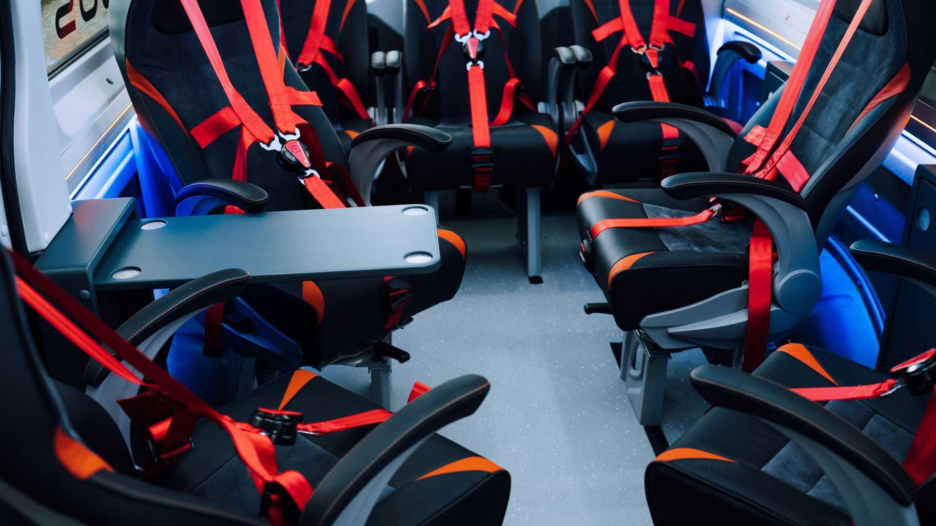 Внутренние Сиденья Автобуса Torsus Terrastorm