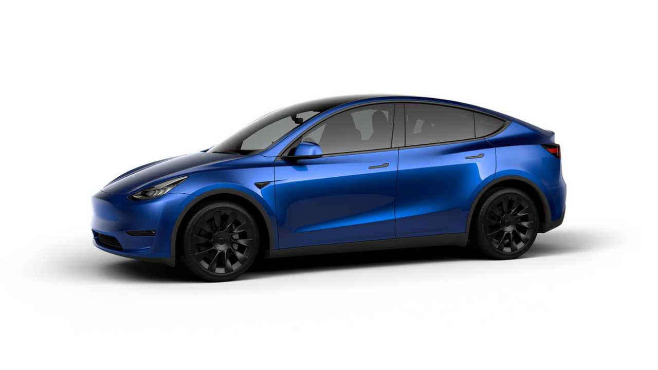 Tesla Model Y (design studio China) - LR AWD version with 20'' Induction Wheels