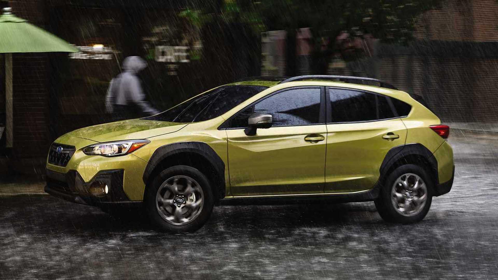 2021 Subaru Crosstrek Debuts With Sport Model, More Powerful Engine