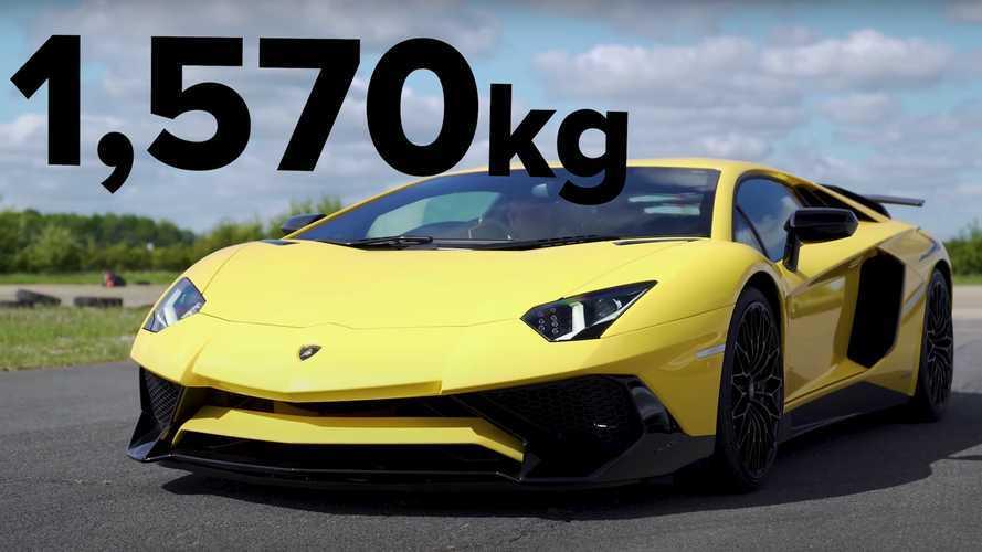 3 adet Lamborghini'nin drag yarışını izleyin!