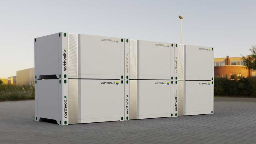 Northvolt Introduces Voltpack Energy Storage Solution With Vattenfall