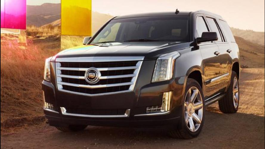 Nuova Cadillac Escalade: il maxi SUV americano per l'Europa