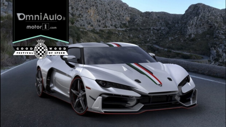 Goodwood FOS 2017, c'è anche l'Italdesign Zerouno