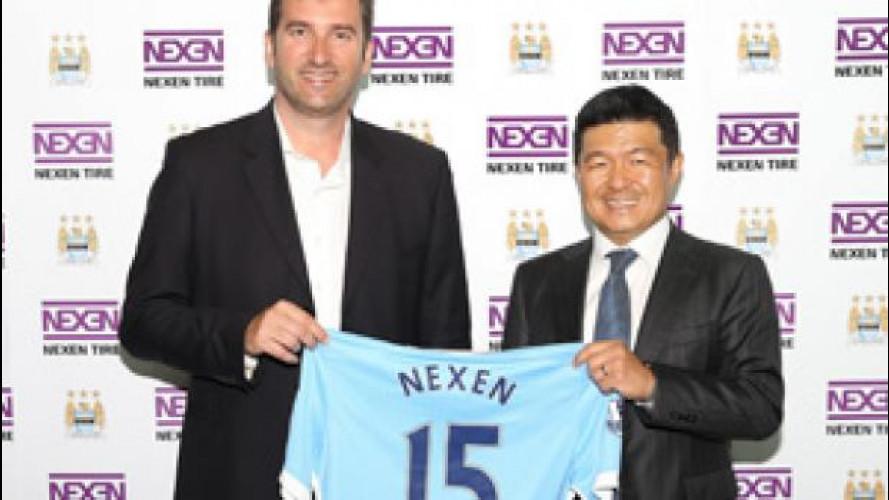 Nexen Tire firma una partnership con il Manchester City
