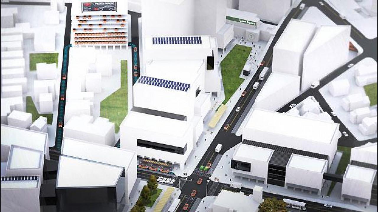 [Copertina] - Guida autonoma, per salvare spazio in città arriva il parcheggio pilotato