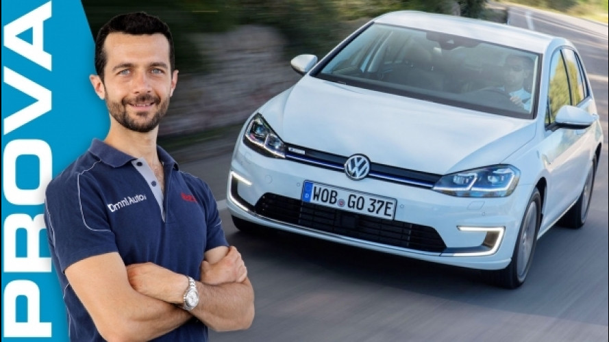 Volkswagen e-Golf, la prova dell'elettrica [VIDEO]