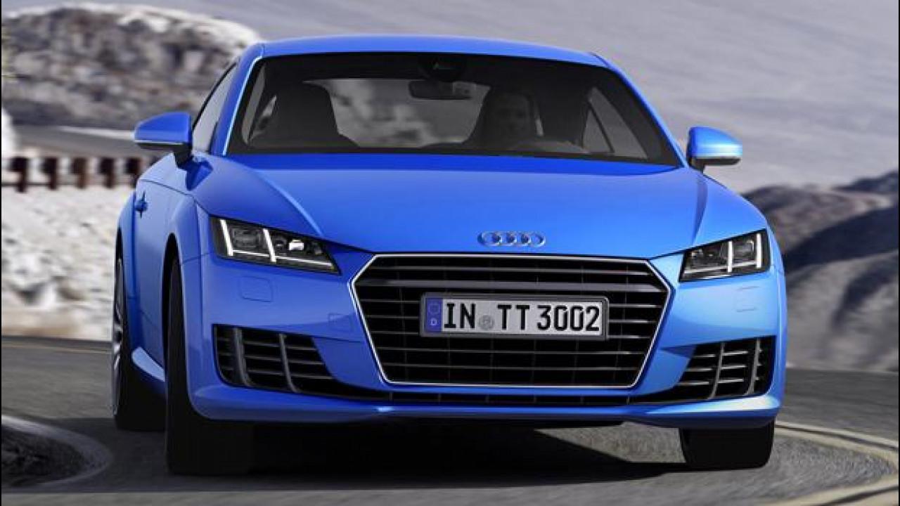 [Copertina] - Audi, un nuovo 1.8 da 180 CV per la TT
