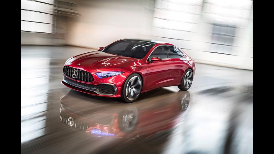 """Mercedes Concept A Sedan, ecco la nuova famiglia """"A"""" [VIDEO]"""