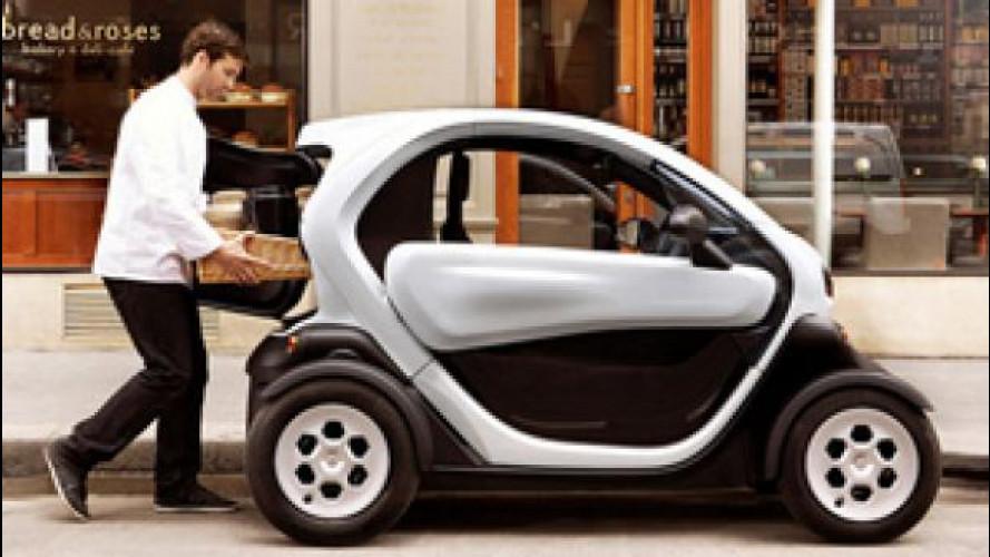 Twizy Cargo, il mini-furgone Renault è arrivato in Italia