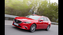 Mazda6 restyling, più ricca e anche integrale