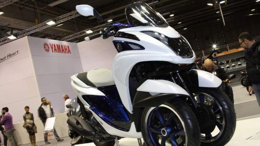Yamaha al Motor Bike Expo 2014