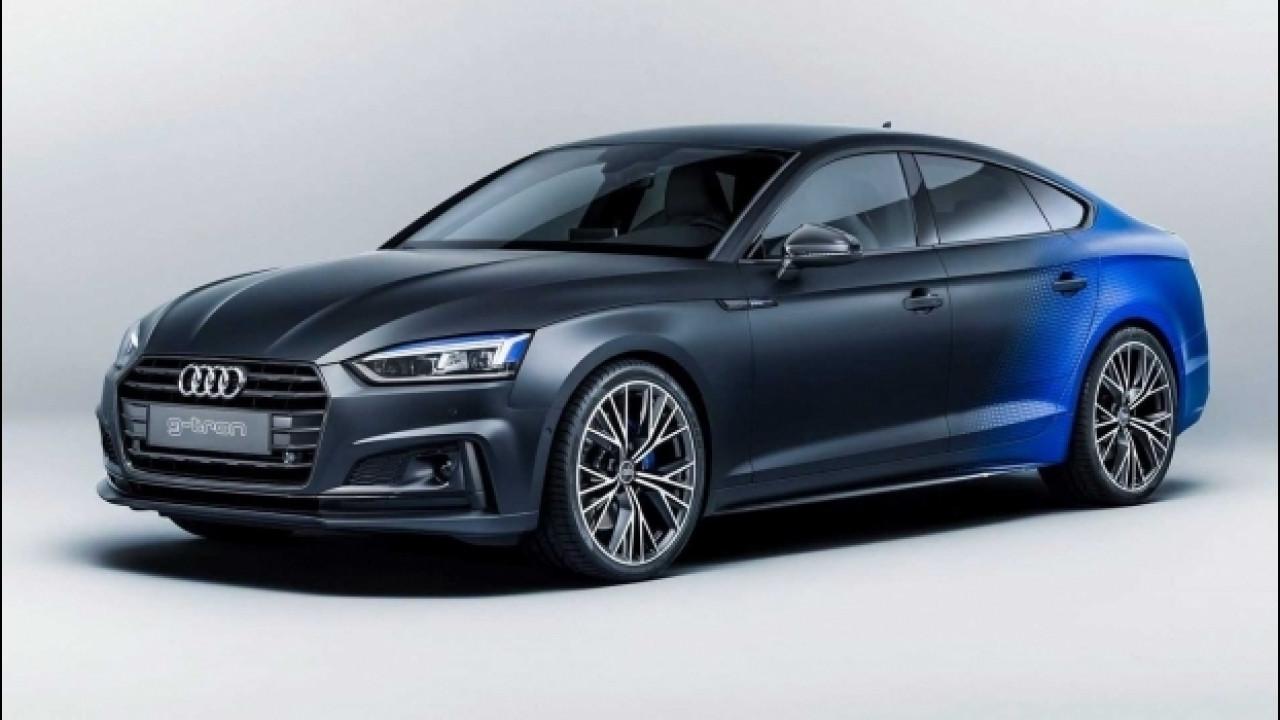 [Copertina] - Audi A5 Sportback g-tron, al Woerthersee quella bicolore