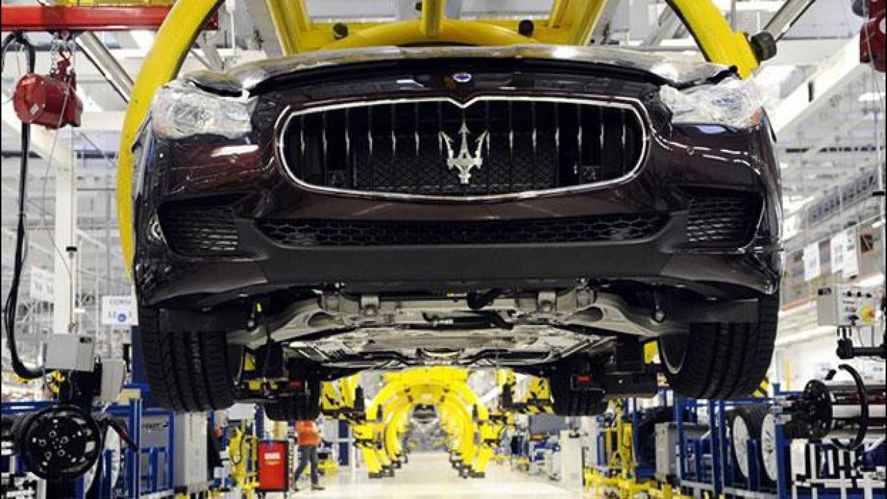 [Copertina] - Maserati, 6 settimane di cassa integrazione a Grugliasco