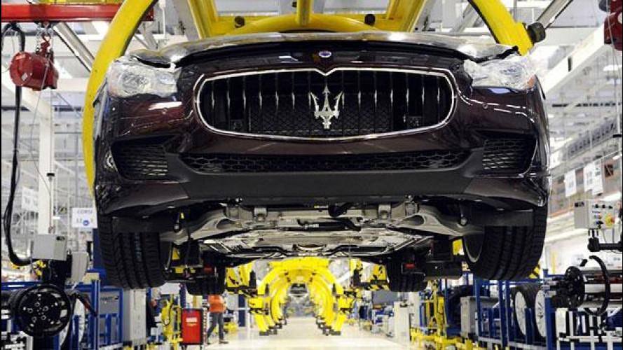 Maserati, 6 settimane di cassa integrazione a Grugliasco