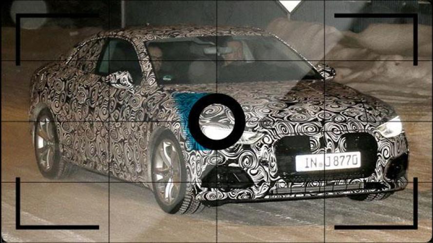 Nuova Audi A5, le foto spia durante i test invernali