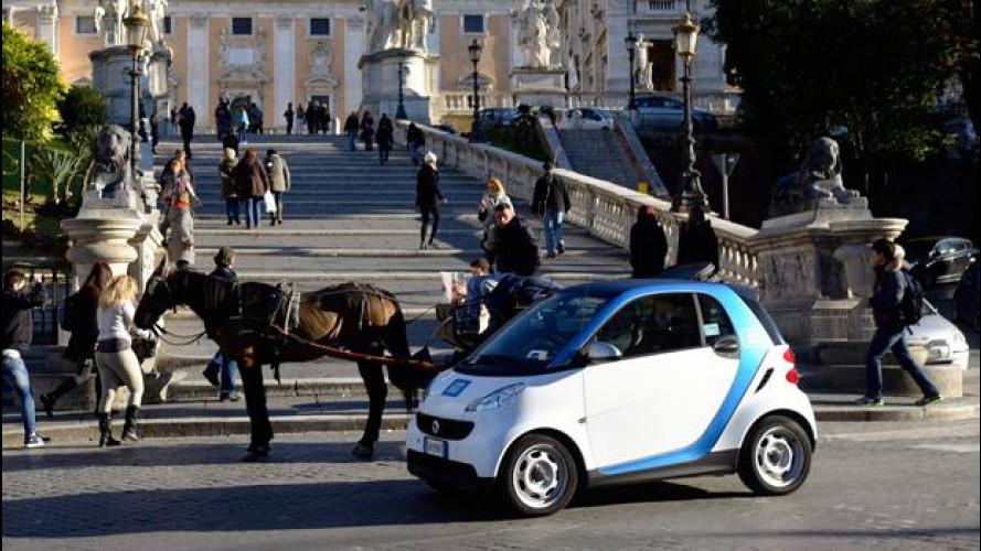 car2go festeggia un anno a Roma con una promozione