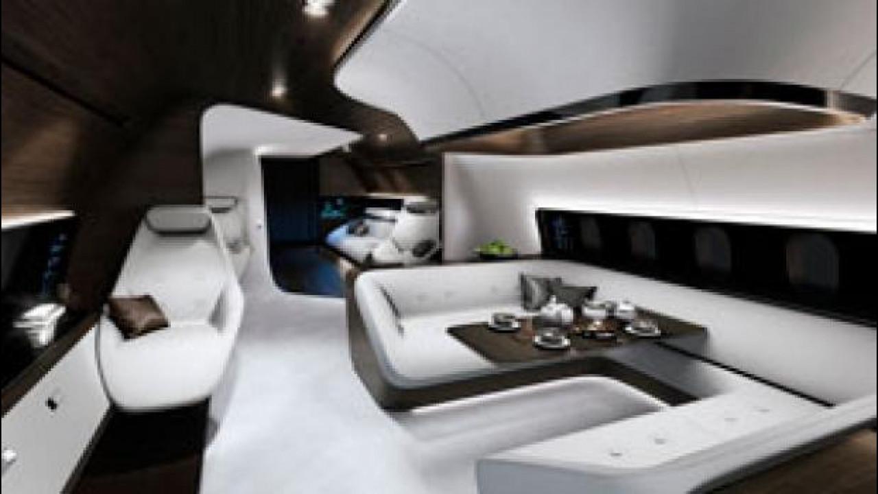 [Copertina] - Mercedes e Lufthansa insieme per gli aerei dei VIP