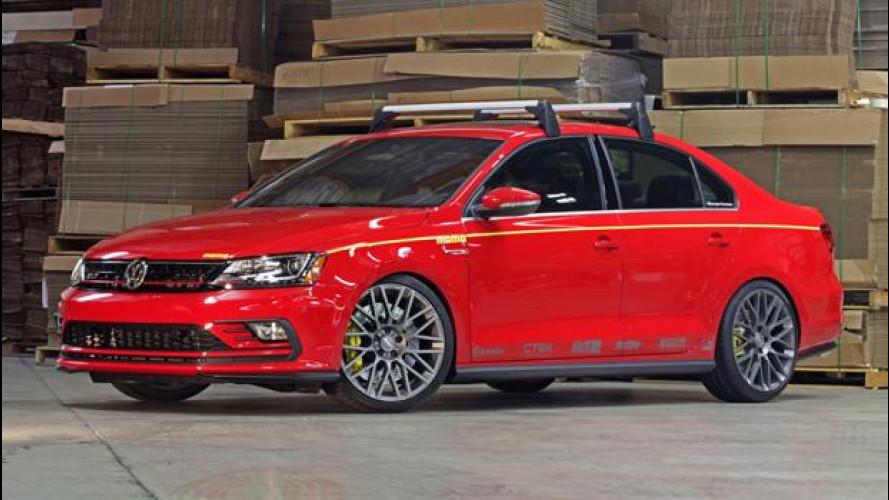 Volkswagen Jetta, con la MOMO Edition un po' di Italia vola al SEMA
