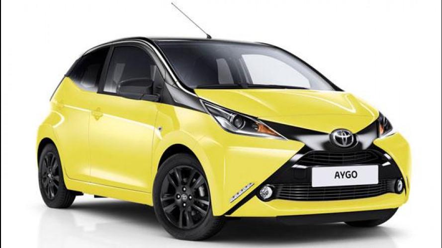 Toyota Aygo X-Cite, il ritorno del bicolore