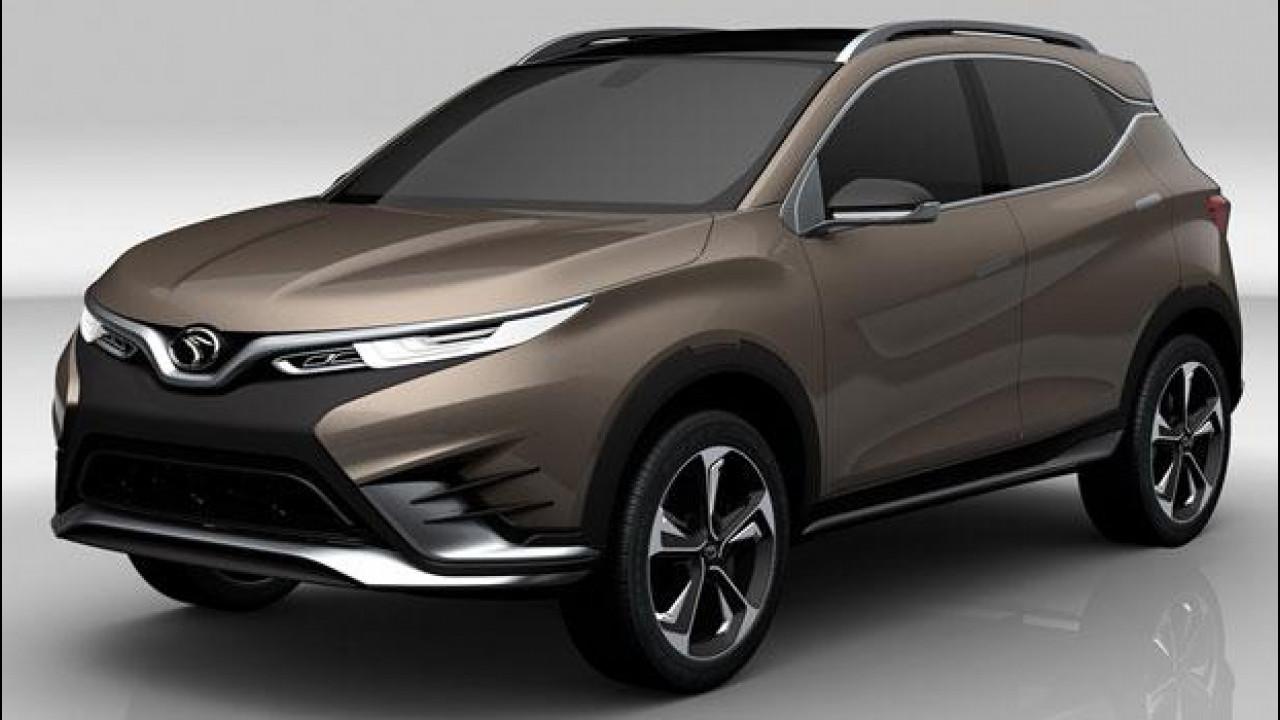 [Copertina] - Pininfarina DX3 concept, il SUV italiano per i cinesi