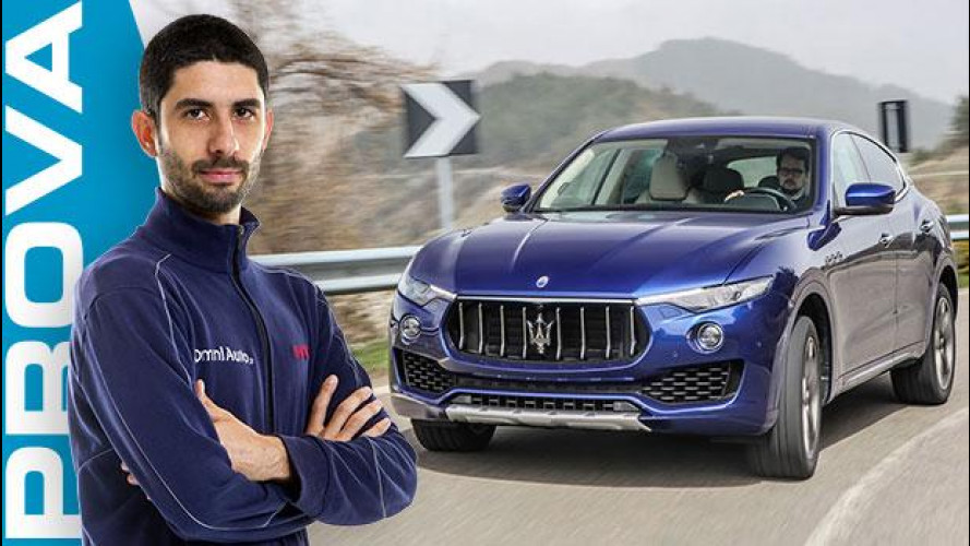 Maserati Levante, eppur si guida [VIDEO]