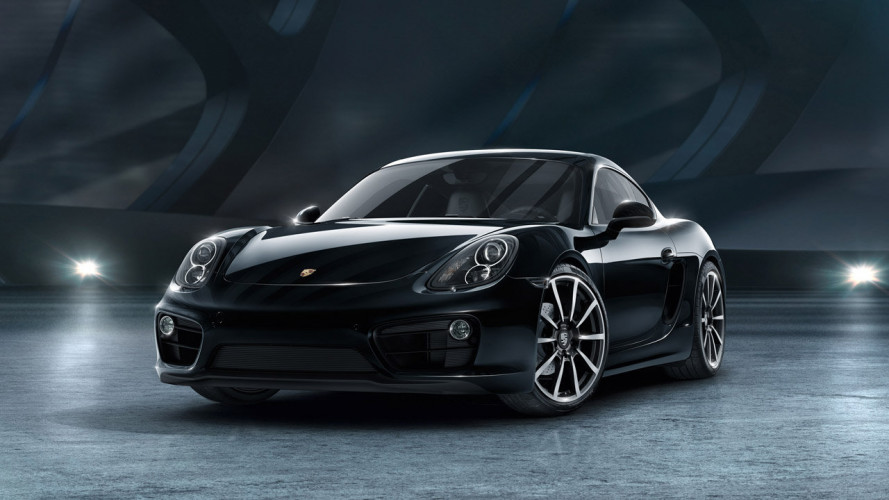Porsche Cayman Black Edition, bella