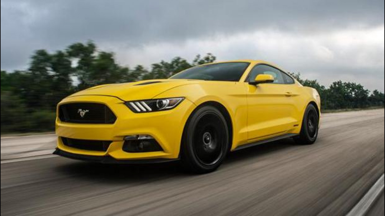 [Copertina] - Ford Mustang, con Hennessey arriva a 334 km/h