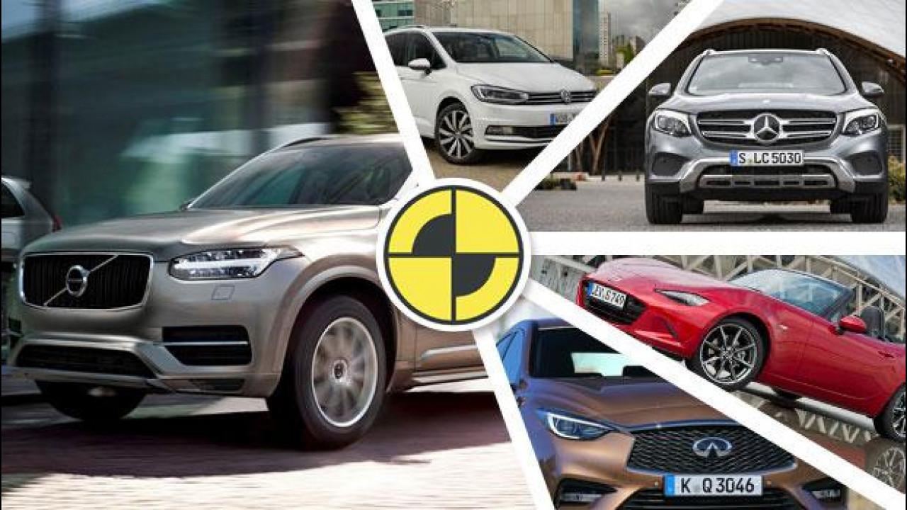 [Copertina] - Le auto più sicure del 2015