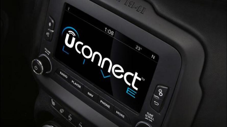 FCA, aggiornamento per 1,4 milioni di sistemi Uconnect