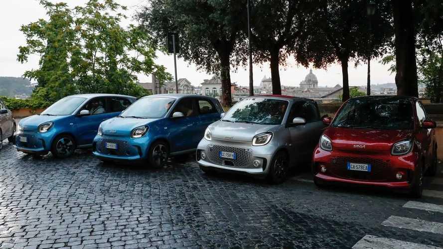 smart EQ fortwo a Roma