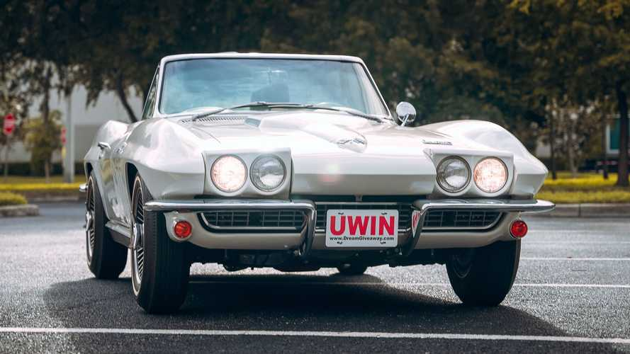 Only 1 Day Remains To Enter To Win This 1966 Corvette Convertible