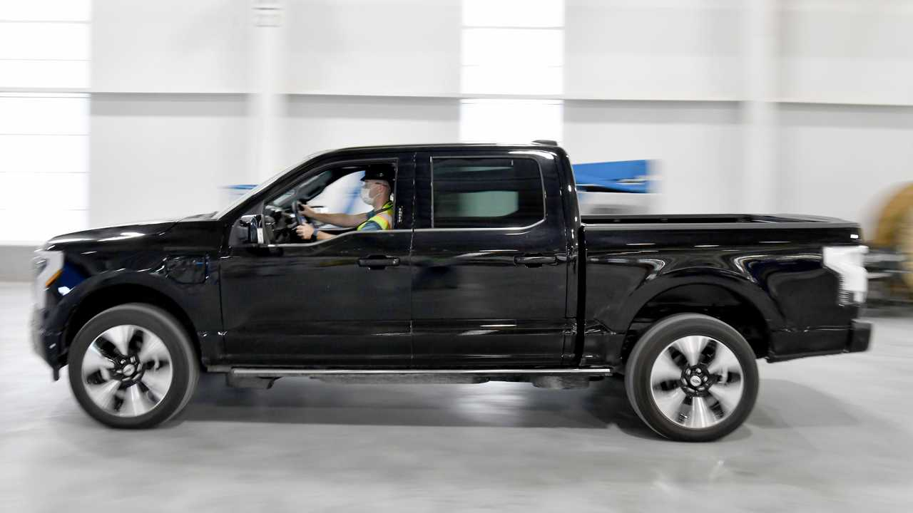 Ford Rouge Electric Vehicle Center: Ford F-150 Lightning production