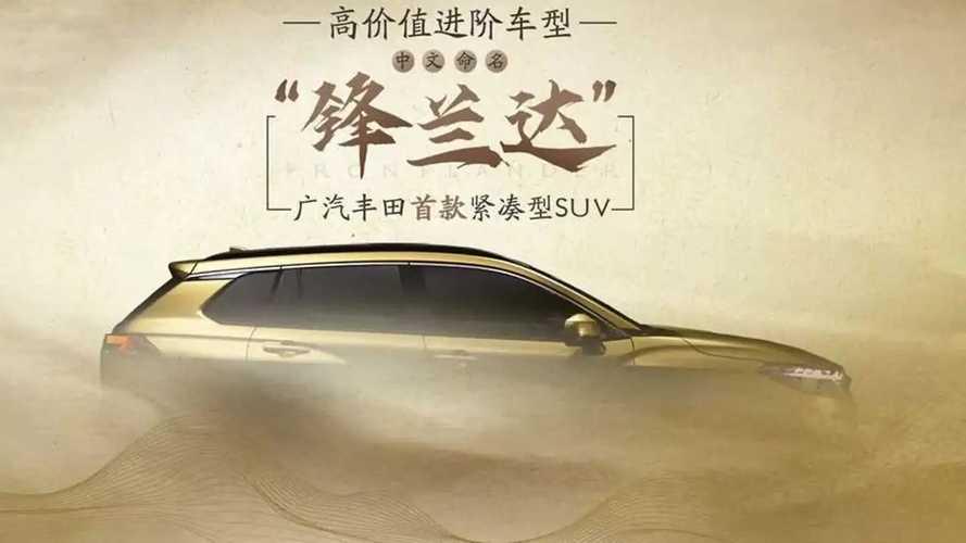 Toyota Frontlander é Corolla Cross com novo nome e design próprio