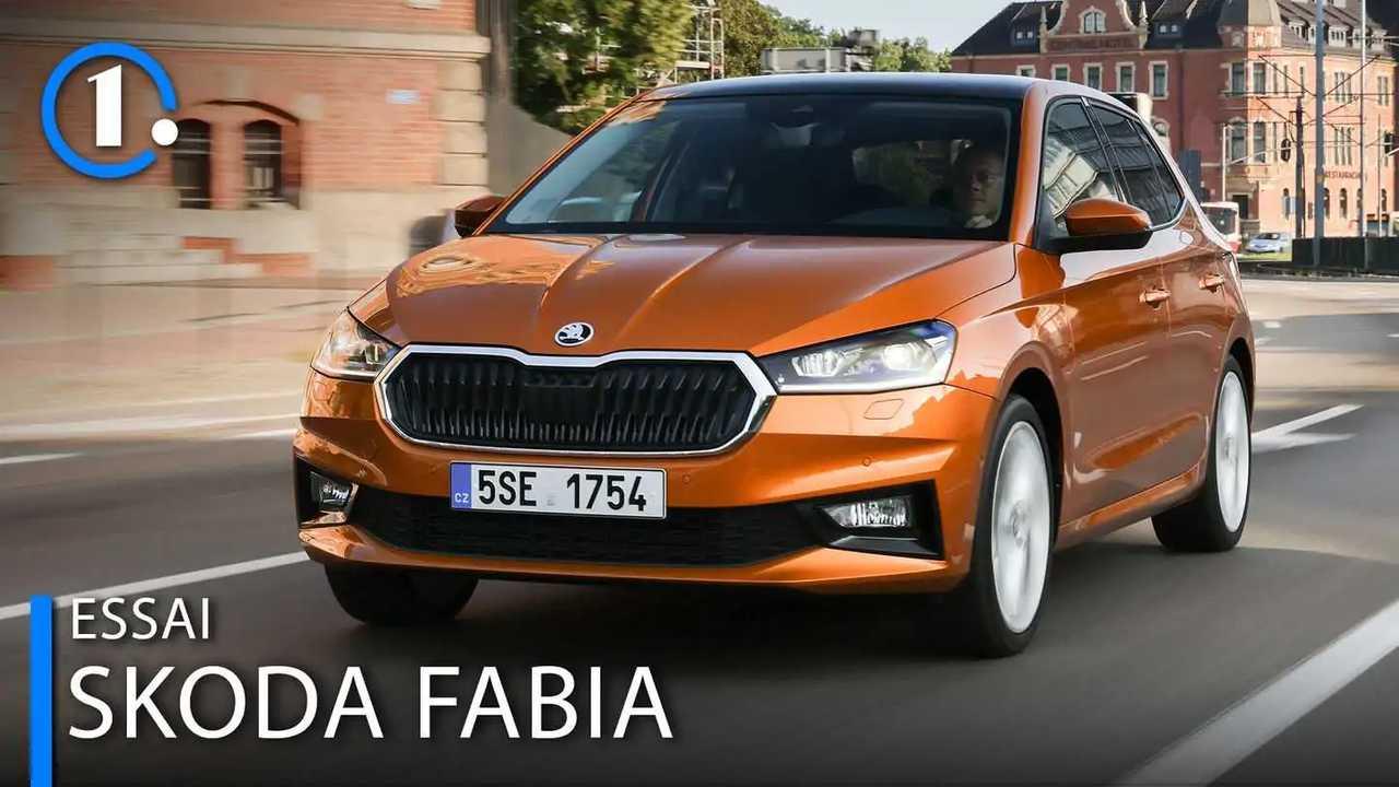 Essai Škoda Fabia 2021