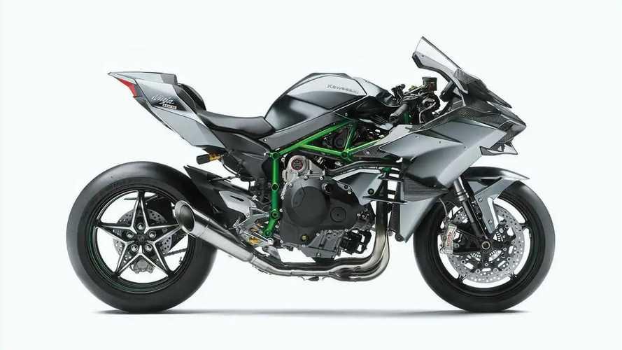 2022 Kawasaki Ninja H2 and H2R