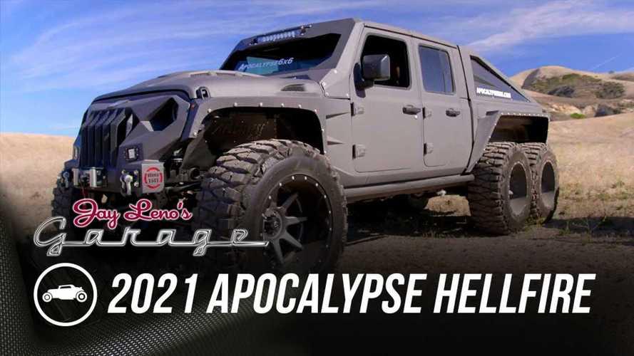 Apocalypse Hellfire 6x6 Visits Jay Leno's Garage As Bonkers Jeep Gladiator Conversion