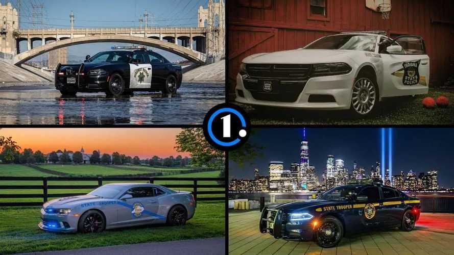 Названы самые красивые машины американской полиции