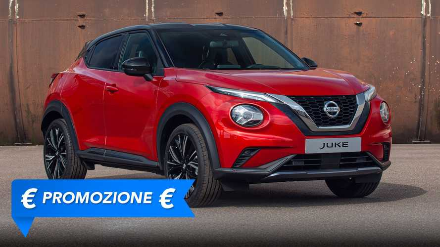 Promozione Nissan Juke benzina, perché conviene e perché no