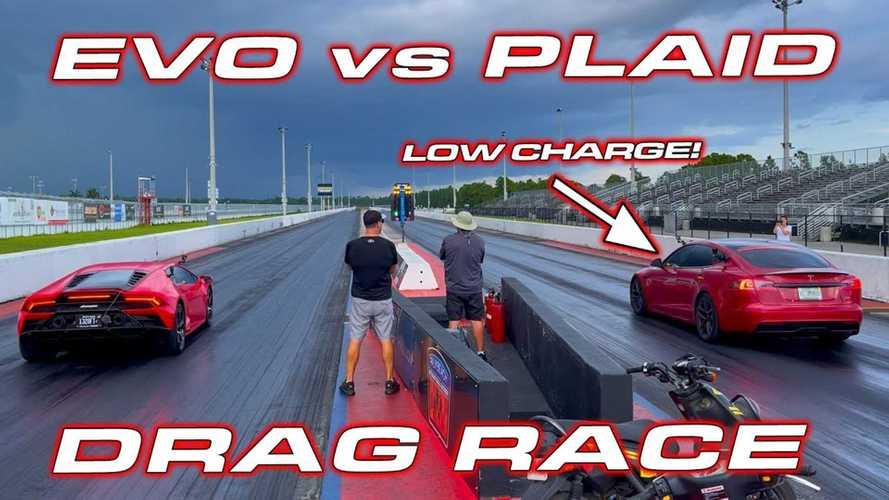 How Can A Lamborghini Huracan Evo Lose So Badly In A Drag Race?