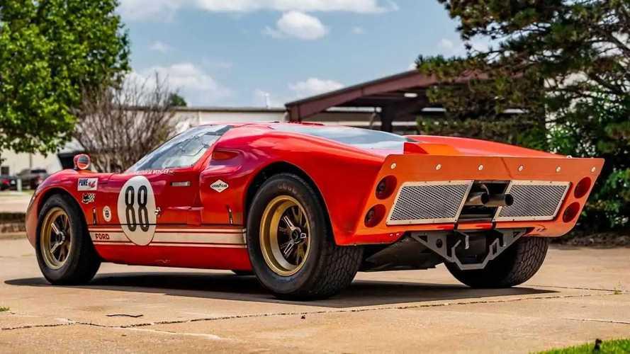 """Une Ford GT40 du film """"Le Mans 66"""" à vendre aux enchères"""