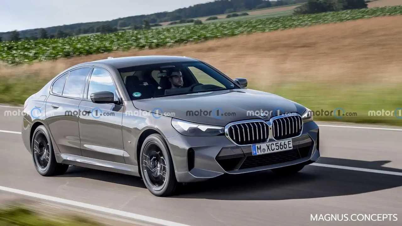 New BMW 5er rendered