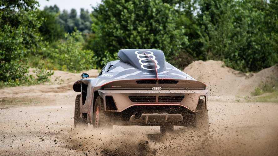 Así es el impresionante Audi RS Q e-tron para el Dakar 2021
