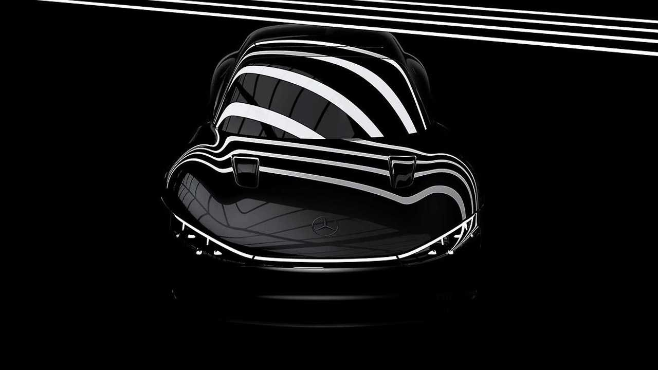 Mercedes teasert Vision EQXX an