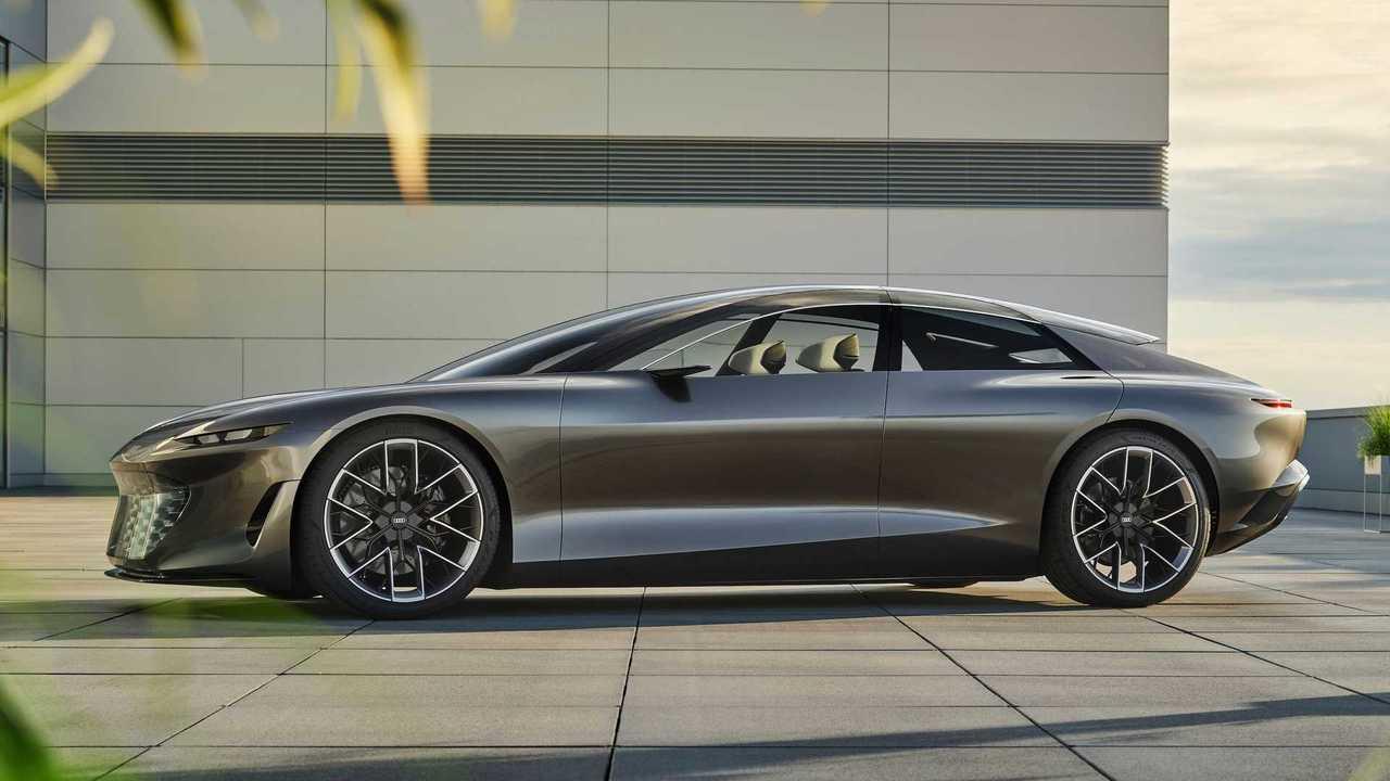 Audi Grandsphere: Ausblick auf eine autonom fahrende Oberklasse-Limousine