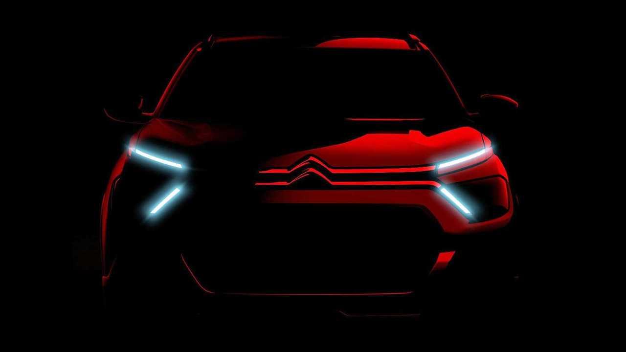 Novo Citroën C3 2023 - Teaser