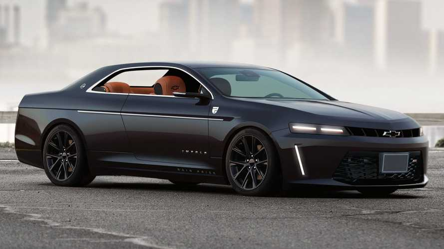 Modern Chevy Impala Coupe Rendering Needs To Happen In Real Life