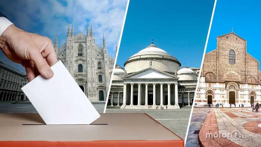 Elezioni: come cambia la mobilità a Milano, Napoli e Bologna